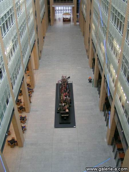Daimler Chrysler Atrium, Berlin, Germany